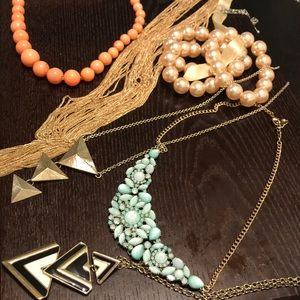 Jewelry bundle 9 necklaces for outrageous price